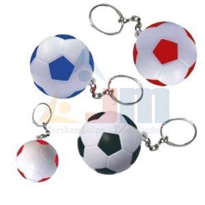 Llavero Pelota de Fútbol Antiestrés