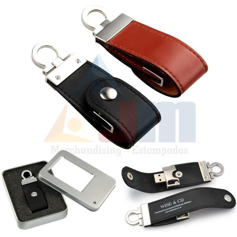 MEMORIA USB LEATHER 16GB