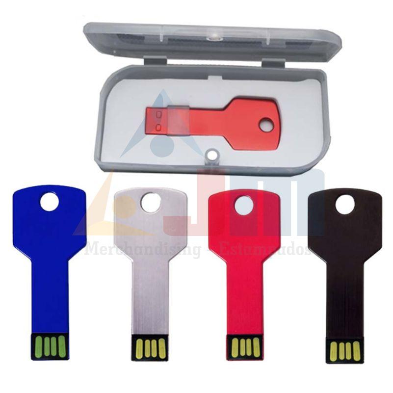 MEMORIA USB LLAVE COLORES 8GB