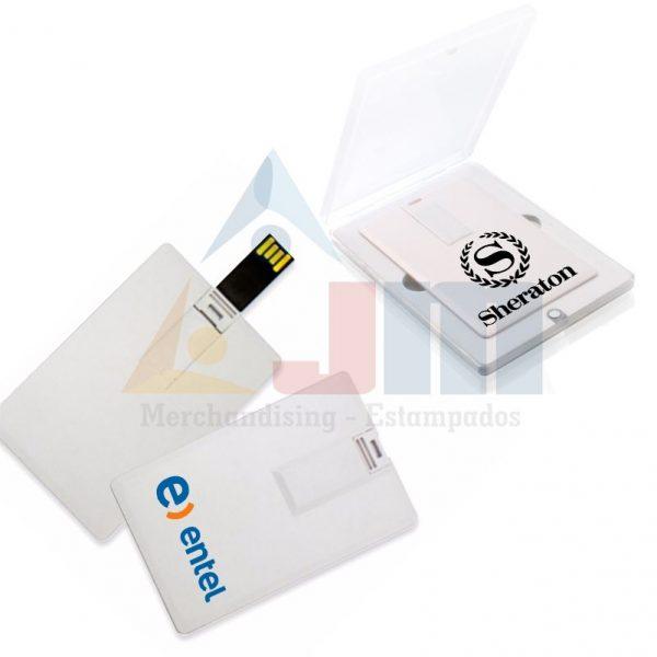 MEMORIA USB TARJETA 4GB