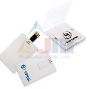 MEMORIA USB TARJETA 8GB