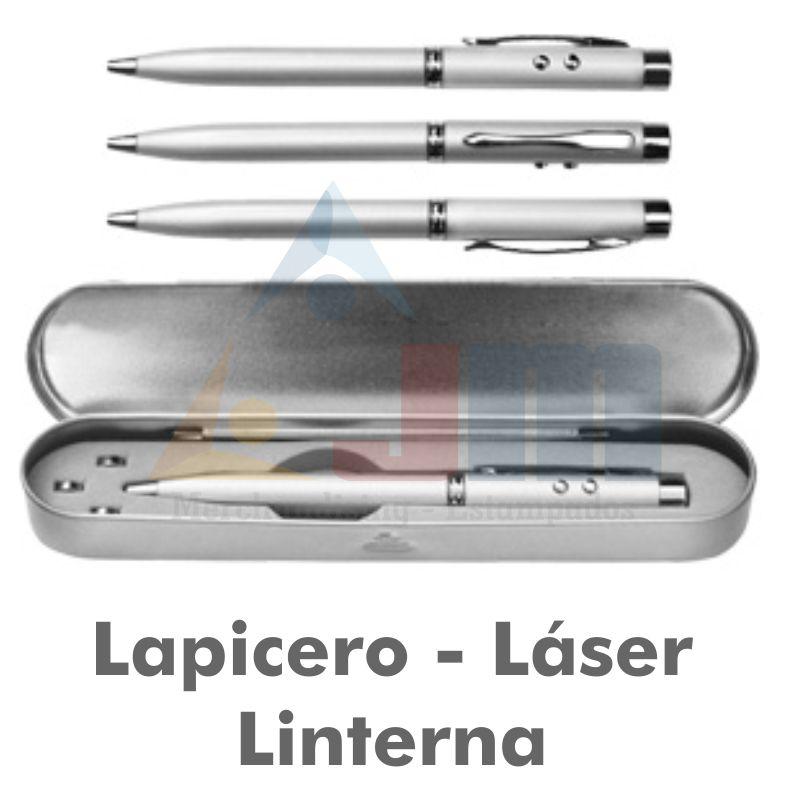 LAPICERO METÁLICO 3 FUNCIONES